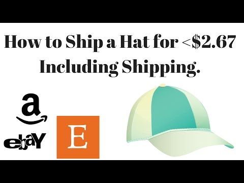 E10: How to ship SnapBacks, Vintage or NewEra Hats on eBay for $2.67! Cheapest WAY!