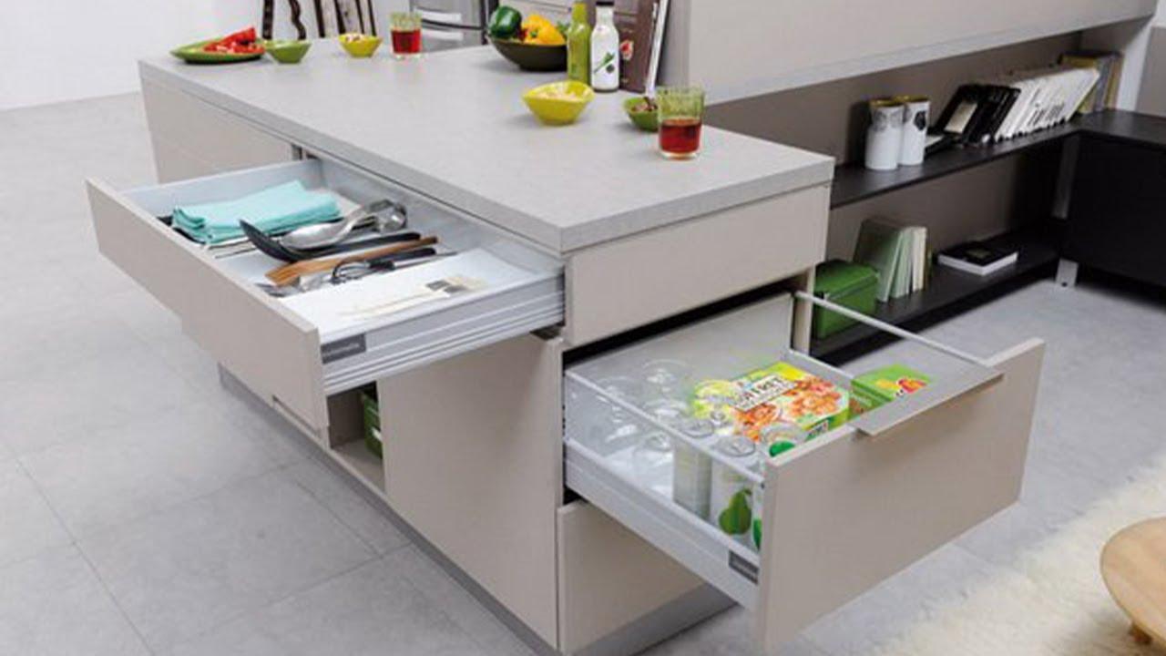 Fantastic Space Saving Kitchen Ideas and kitchen designs -  Smart kitchen ▶5