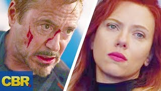 What Tony Stark And Black Widow