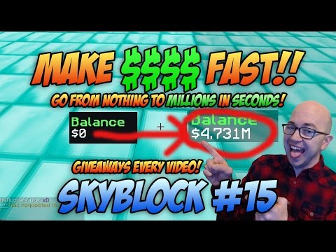 Minecraft: How to Make Money On Skyblock - Arkham Network