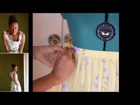 DIY Elastic Skirt Adjustment - Elleword