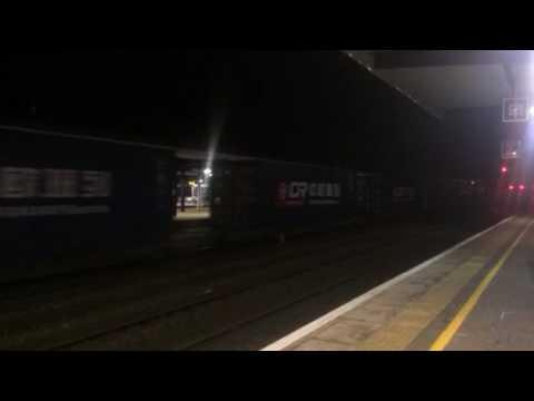 First ever train form London to China seen through Ashford.