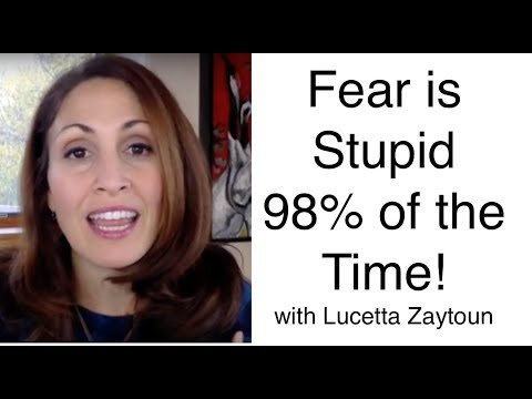 Fear is Stupid 98% of the Time