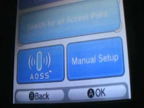 Como conectar tu Nintendo DS a WI-FI