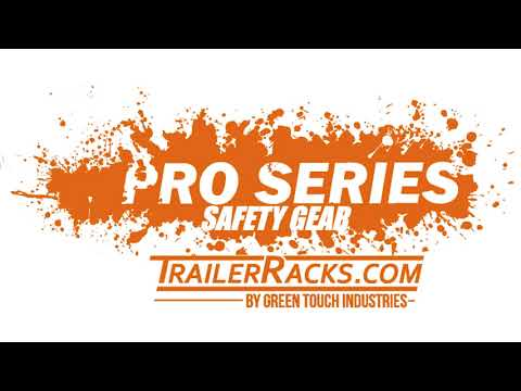 Pro Series Safety Gear Class 2 Safety Vest by Green Touch Industries