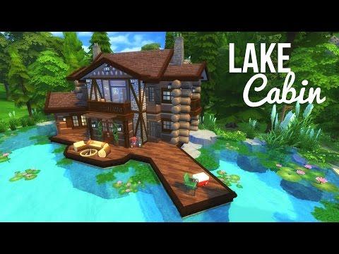 LAKE CABIN - Sims 4 | House Build