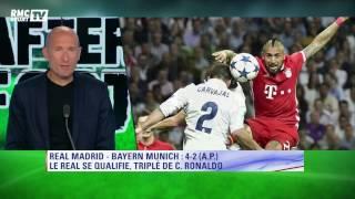 Le mea culpa dingue de Fred Hermel pour Ronaldo en plein direct Real-Bayern sur RMC