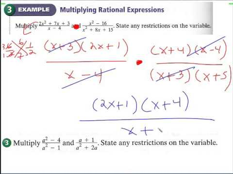 9.4  rational expressions