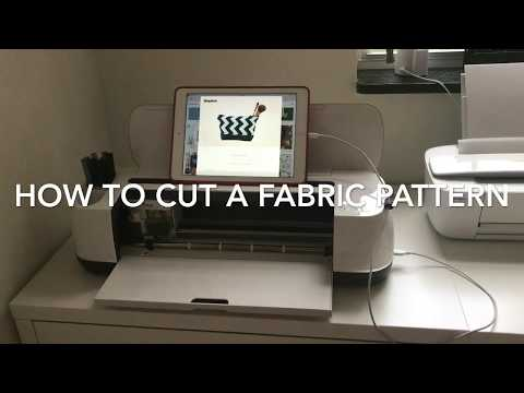 How to cut a fabric pattern with the Cricut Maker