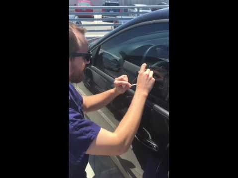 Parking sticker removal tutorial