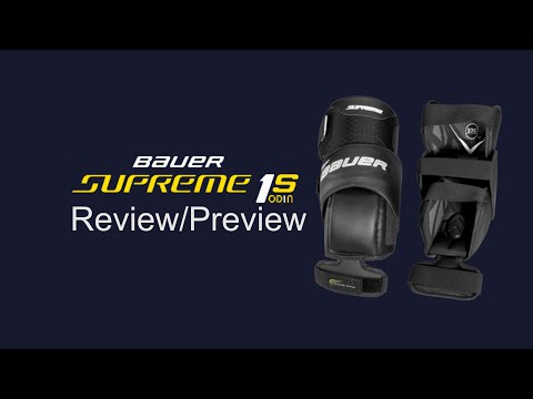 Bauer Supreme 1S OD1N Goalie Knee Pad Review/Preview