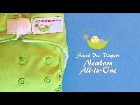 Sweet Pea Newborn All-in-One