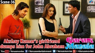 Akshay Kumar's girlfriend dumps him for John Abraham (Garam Masala)