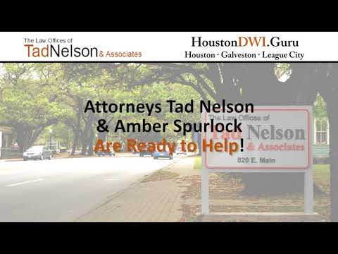 Texas Drivers' Rights By Houston DWI Lawyer Tad A. Nelson