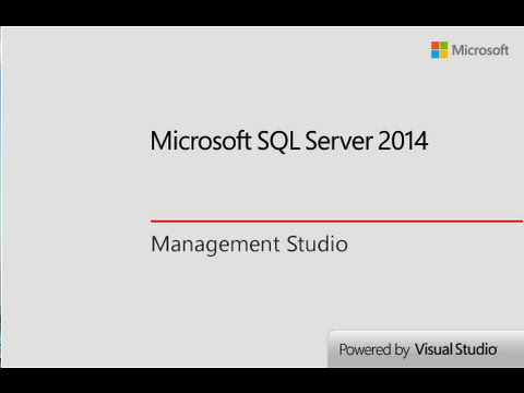 Connect MS SQL Server to Visual Studio 2015