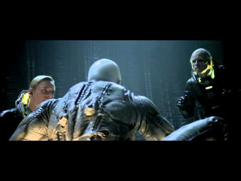 Prometheus deleted scene Shaw fights Engineer - VidoEmo ...