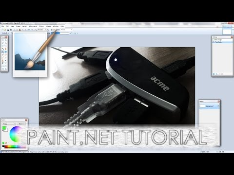 Paint.NET tutorial number 127 - Simple but cool photo effect