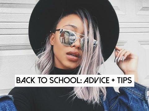 BACK TO SCHOOL ADVICE + TIPS 2016! (BLOCKING MICHELLES, FRIENDS, BEING CONFIDENT)