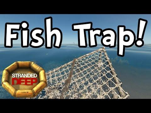 Stranded Deep - Fish Trap! New Update! (1080p60 Gameplay / Walkthrough)