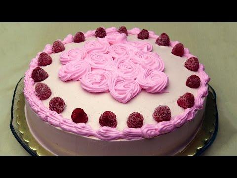 Chocolate Raspberry Cake Recipe - Moist Cacao Sponge Cake