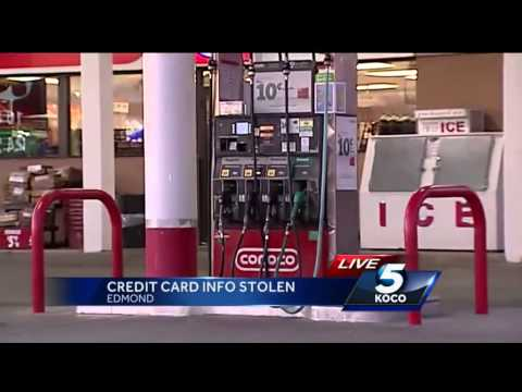 Credit card numbers being stolen at the pump through 'skimming'