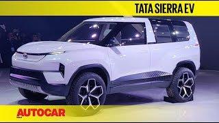 Auto Expo 2020 - Tata Sierra - Exclusive Walkaround with Pratap Bose | Autocar India