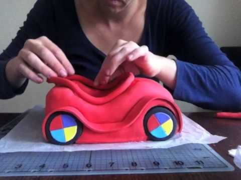 How to make a Car Cake - Part 3