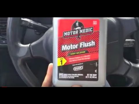 IMPORTANT - Engine Oil System FLUSH and CHANGE