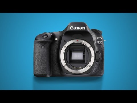 Canon EOS 80D Unboxing - Body Only