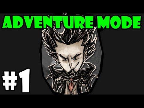 Don't Starve Adventure Mode Series - Wilson - Part 1 - [S10]