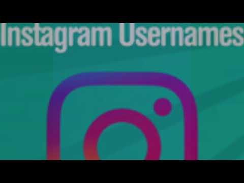 Instagram Name Ideas!