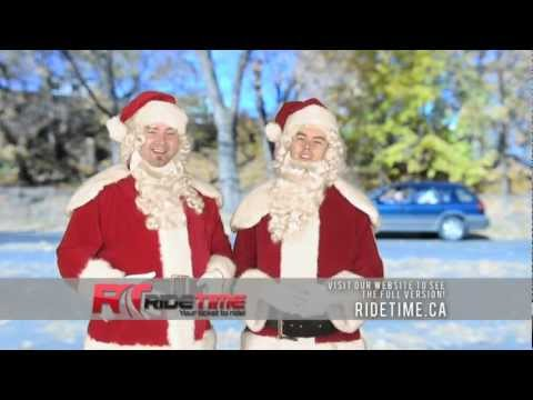 Winnipeg Used Car Dealership | Ride TIme | Christmas 2012 | Boxing Day | Boxing Week Sale