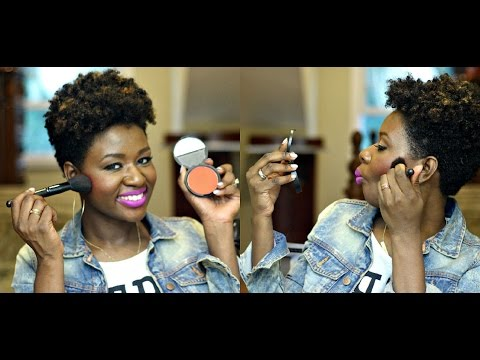 Best Blushes for Dark Skin: Dupe for Nars Exhibit A!
