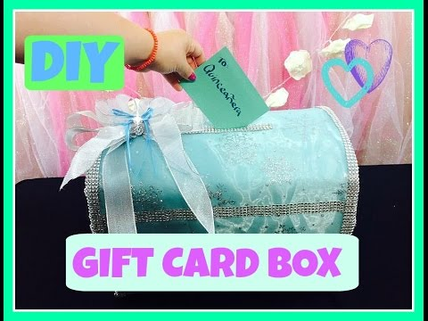 How to make a gift card box? (DIY-Tutorial for quinceaneras & weddings)