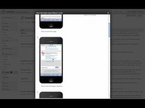 How to add wordpress Plugins.mov