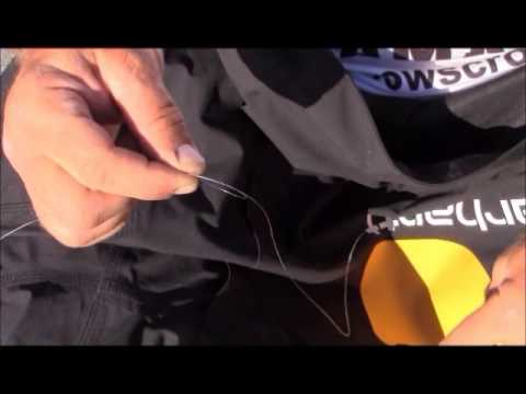 Terry Scroggins: Tying Braid to Fluorocarbon