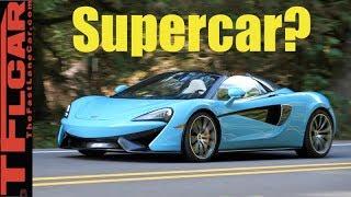 Is the Brand New McLaren 570S a True Supercar?