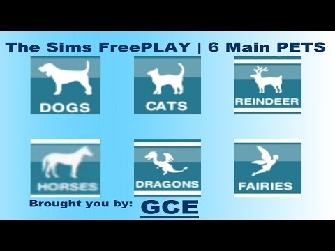 The 6 Different types of Pets - The Sims FreePLAY
