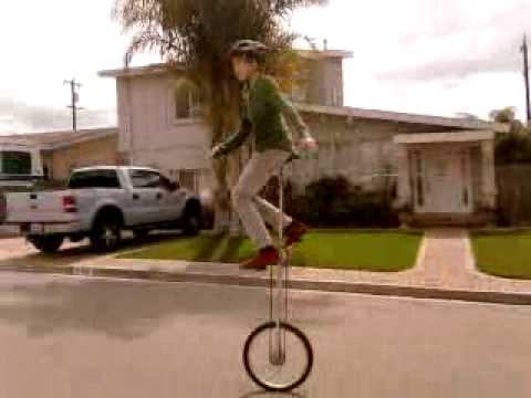 6 foot tall unicycle