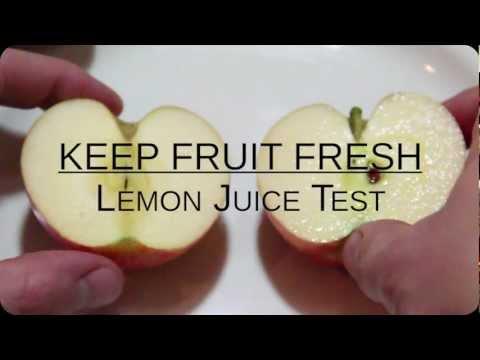 Keep Fruit Looking Fresh
