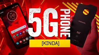 """Hands-On With The First """"5G"""" Smartphone [!]"""