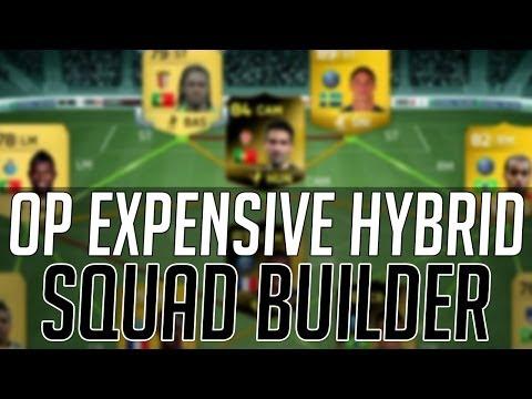 THE EXPENSIVE LIGUE 1 + PORTUGUESE LIGA  HYBRID SQUAD | FIFA 14 Ultimate Team Squad Builder (FUT 14)