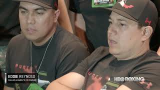 Canelo vs. Golovkin Trainer Round Table Recap (HBO Boxing)
