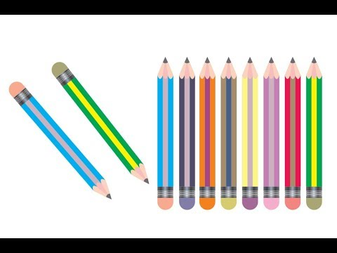 How to draw pencil in corel draw