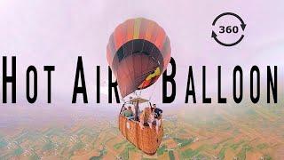 HOT AIR BALLOON RIDE- In 360 VR
