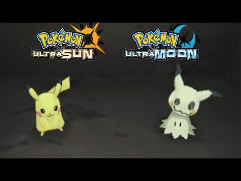 Pokemon Ultra Sun and Ultra Moon - How To Get Mimikyu Z Crystal