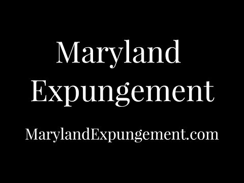 MarylandExpungement.com | Online Maryland Expungement | Welcome Video