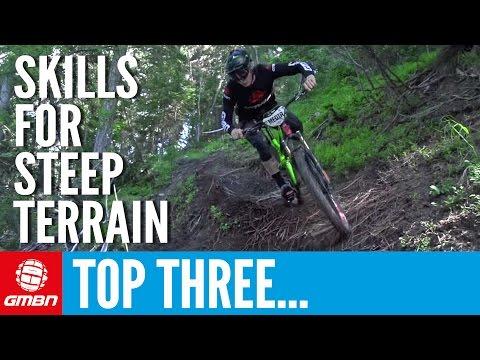 3 Essential Skills For Riding Steep Trails | Mountain Biking Skills