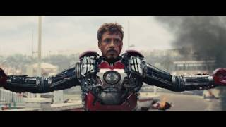 Iron Man All Suit Up Scenes.