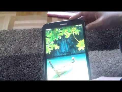 Screenshot für Samsung Tab 3